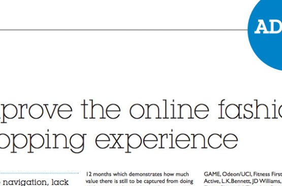 Improve the online fashion shopping experience